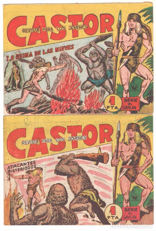 Tebeos: CASTOR COMPLETA original, EDI. MAGA 1962 - lote 41 TEBEOS, VER TODAS LAS PORTADAS - Foto 17 - 64186239