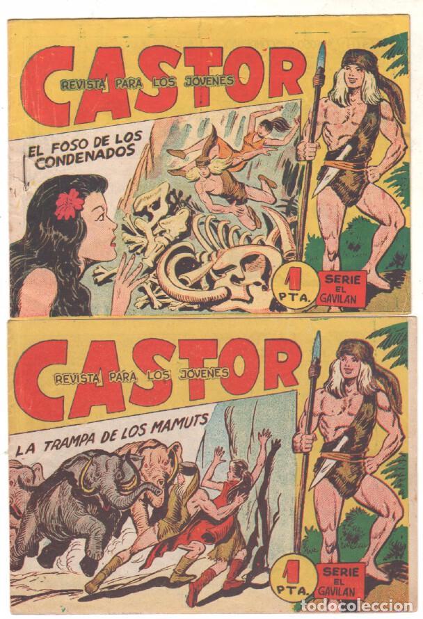 Tebeos: CASTOR COMPLETA original, EDI. MAGA 1962 - lote 41 TEBEOS, VER TODAS LAS PORTADAS - Foto 18 - 64186239