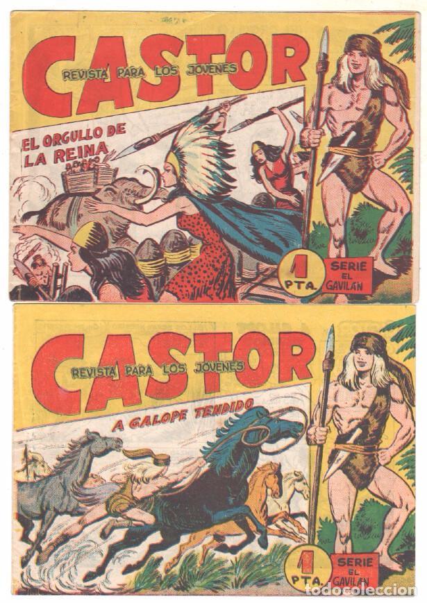 Tebeos: CASTOR COMPLETA original, EDI. MAGA 1962 - lote 41 TEBEOS, VER TODAS LAS PORTADAS - Foto 19 - 64186239