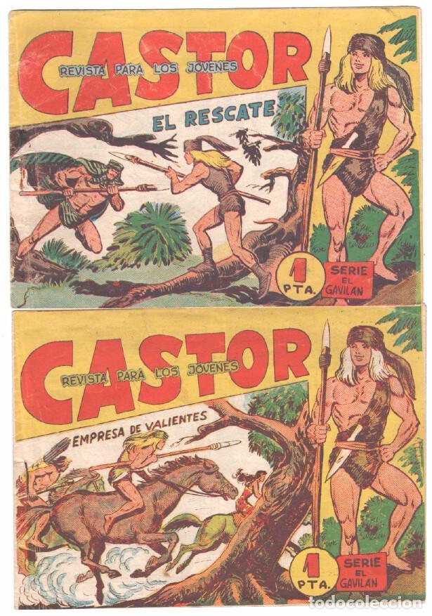 Tebeos: CASTOR COMPLETA original, EDI. MAGA 1962 - lote 41 TEBEOS, VER TODAS LAS PORTADAS - Foto 21 - 64186239