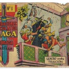Tebeos: CORAZA DE CASTILLA Nº 8 - ED. MAGA 1964. Lote 64406371