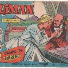 Tebeos: OLIMAN ORIGINAL Nº 65 EDI. MAGA 1960 - SIN ABRIR, MUY BUEN ESTADO. Lote 64728107