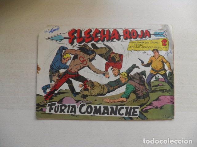 TEBEO DE FLECHA ROJA. (Tebeos y Comics - Maga - Flecha Roja)