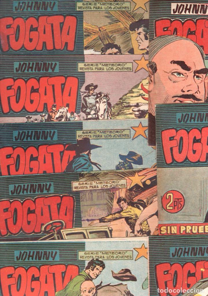 JOHNNY FOGATA ORIGINAL 39 NºS-78,76,75,74,73,69,68,67,66,56,49,46,44,43,42,40,37,1 A 7-9 A15,18 A 25 (Tebeos y Comics - Maga - Otros)