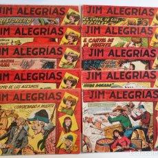 Tebeos: JIM ALEGRÍAS - DIEZ PRIMEROS NÚMEROS - ED. MAGA - ORIGINALES - 1, 2, 3, 4, 5, 6, 7, 8, 9 Y 10.. Lote 66180990