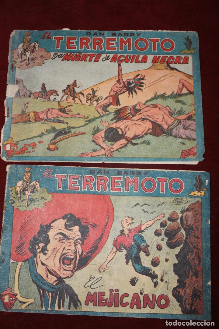 2 COMIC DAN BARRY EL TERREMOTO, MAGA AÑOS 60, Nº 17 Y 35 (Tebeos y Comics - Maga - Dan Barry)
