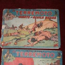 Tebeos: 2 COMIC DAN BARRY EL TERREMOTO, MAGA AÑOS 60, Nº 17 Y 35. Lote 66518290