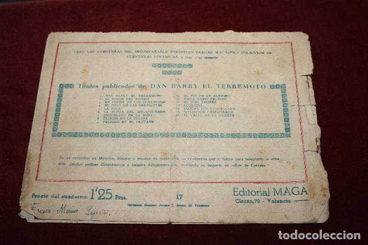 Tebeos: 2 COMIC DAN BARRY EL TERREMOTO, MAGA AÑOS 60, Nº 17 Y 35 - Foto 2 - 66518290