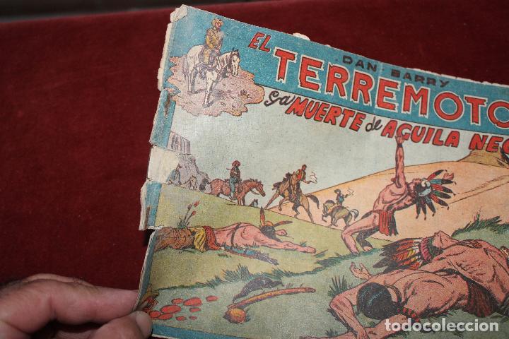 Tebeos: 2 COMIC DAN BARRY EL TERREMOTO, MAGA AÑOS 60, Nº 17 Y 35 - Foto 5 - 66518290