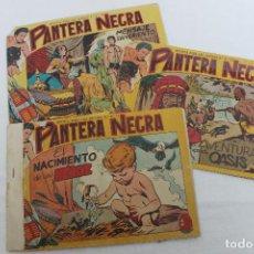 Tebeos: 2 COMIC PANTERA NEGRA, EDITORIAL MAGA, ORIGINALES, Nº 27 Y 18. Lote 207370418