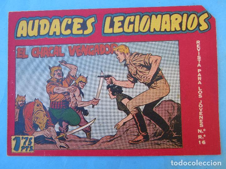 AUDACES LEGIONARIOS , NUMERO 12, MAGA 1958 (Tebeos y Comics - Maga - Otros)