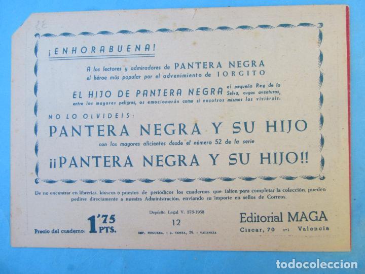 Tebeos: audaces legionarios , numero 12, maga 1958 - Foto 3 - 67110521