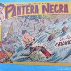 Tebeos: PANTERA NEGRA , N.16 , EN LA CATARATA , MAGA 1958. Lote 67392013