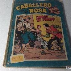 Giornalini: COMIC- EL CABALLERO DE LA ROSA-ORIGINALES 1958 DEL Nº 1 AL 7. Lote 68158069