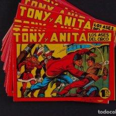 Tebeos: TONY Y ANITA, 32 EJEMPLARES. Lote 117212796