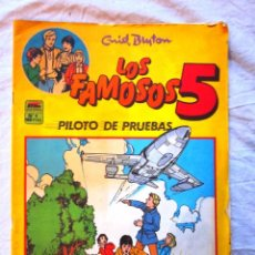 Tebeos: COMIC TEBEO DE LOS FAMOSOS 5. Nº 6. PILOTO DE PRUEBAS. ED. MC. AÑO, NUEVO. Lote 69028161