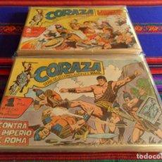 Tebeos: CORAZA COMPLETA 64 NºS ORIGINAL. EDITORIAL MAGA 1962.. Lote 69827361
