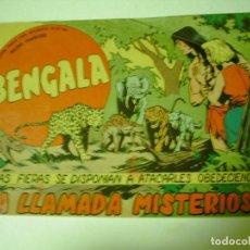 Tebeos: EDITORIAL MAGA BENGALA Nº 53 ORIGINAL LA LLAMADA MISTERIOSA. Lote 70076129