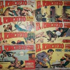 Tebeos: EL RANCHERO (MAGA) LOTE DE 5 NUMEROS DIFERENTES. Lote 140445694