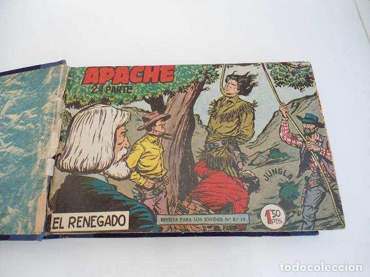 APACHE 2ª PARTE - 73 NÚMEROS CORRELATIVOS ORIGINALES - ED. MAGA 1958 (Tebeos y Comics - Maga - Apache)