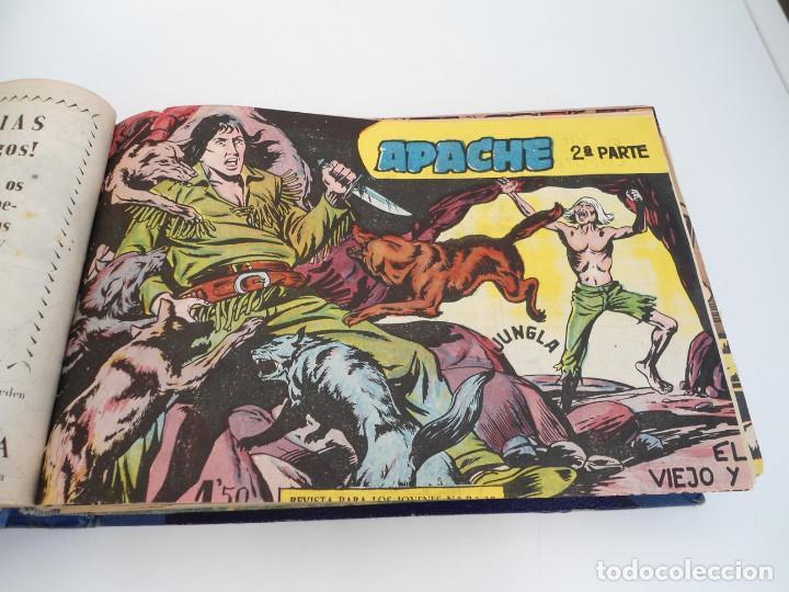 Tebeos: APACHE 2ª PARTE - 73 números correlativos ORIGINALES - Ed. MAGA 1958 - Foto 5 - 72137395