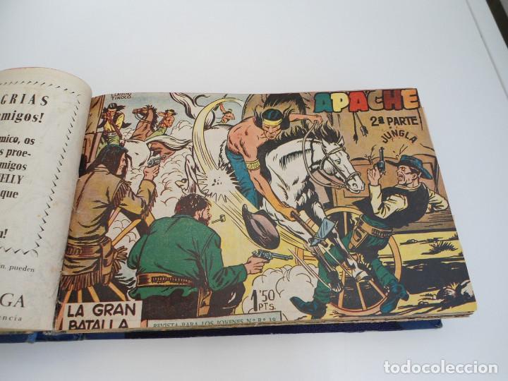 Tebeos: APACHE 2ª PARTE - 73 números correlativos ORIGINALES - Ed. MAGA 1958 - Foto 6 - 72137395