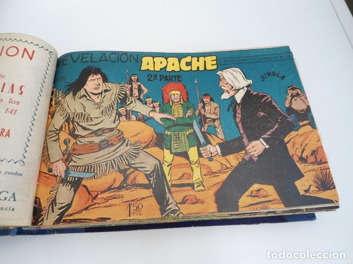 Tebeos: APACHE 2ª PARTE - 73 números correlativos ORIGINALES - Ed. MAGA 1958 - Foto 7 - 72137395