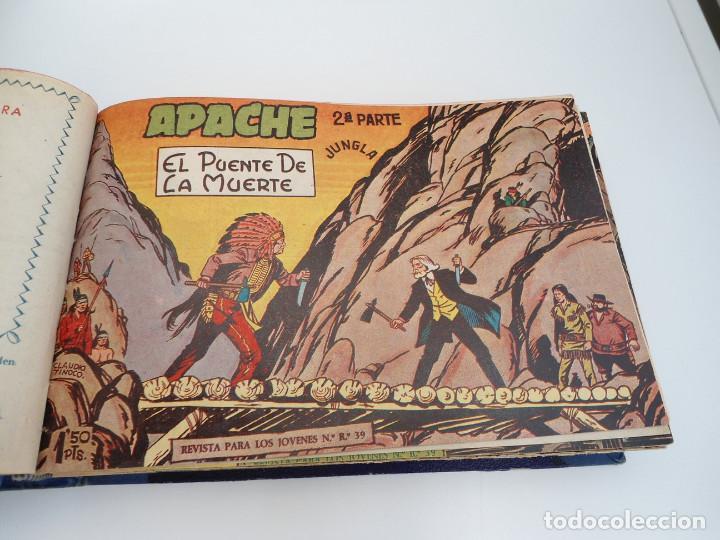 Tebeos: APACHE 2ª PARTE - 73 números correlativos ORIGINALES - Ed. MAGA 1958 - Foto 8 - 72137395