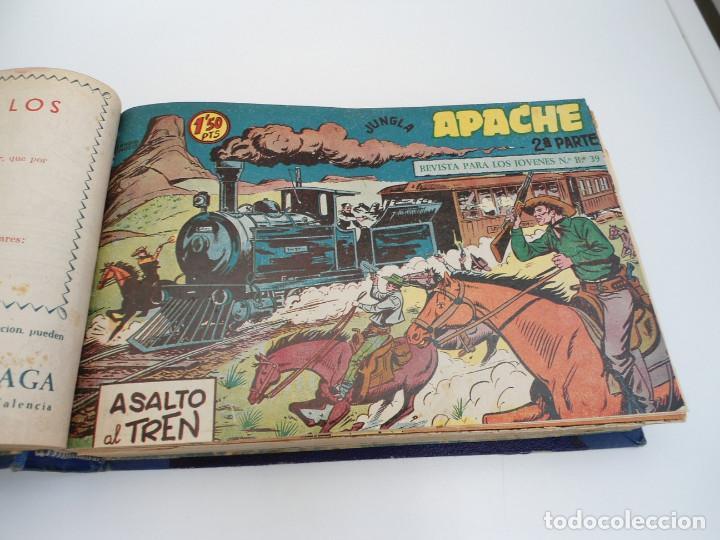 Tebeos: APACHE 2ª PARTE - 73 números correlativos ORIGINALES - Ed. MAGA 1958 - Foto 11 - 72137395
