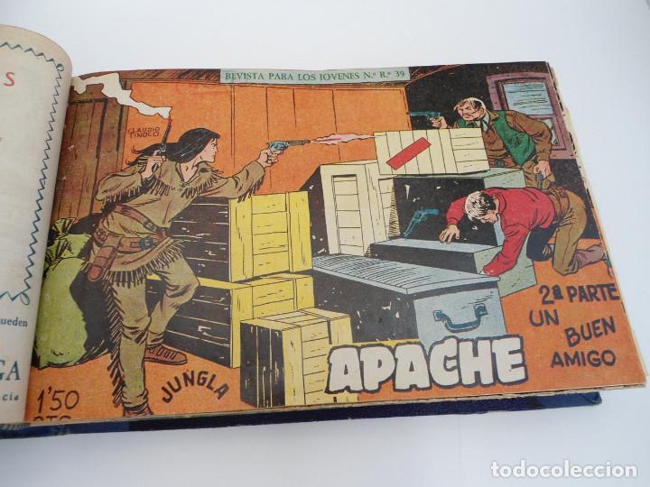 Tebeos: APACHE 2ª PARTE - 73 números correlativos ORIGINALES - Ed. MAGA 1958 - Foto 12 - 72137395