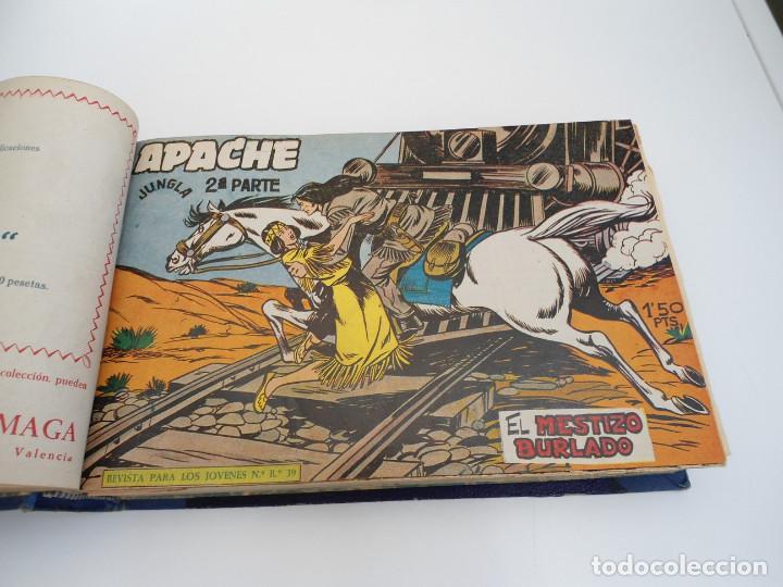 Tebeos: APACHE 2ª PARTE - 73 números correlativos ORIGINALES - Ed. MAGA 1958 - Foto 13 - 72137395