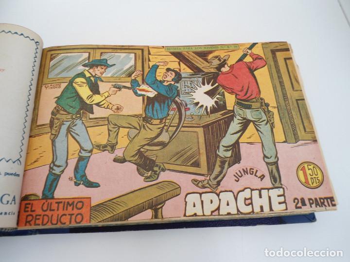 Tebeos: APACHE 2ª PARTE - 73 números correlativos ORIGINALES - Ed. MAGA 1958 - Foto 15 - 72137395
