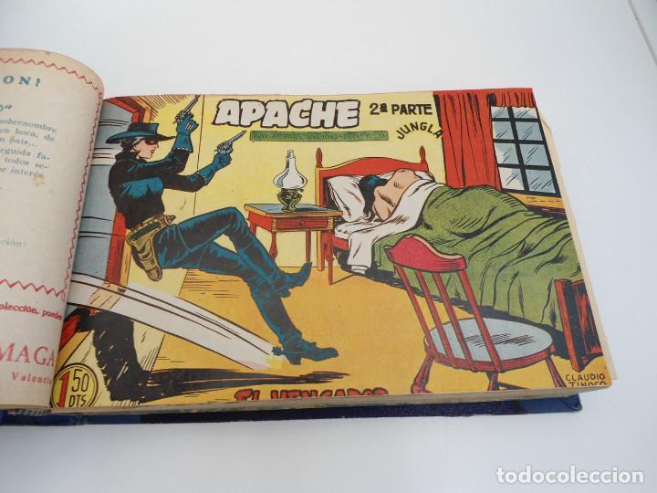 Tebeos: APACHE 2ª PARTE - 73 números correlativos ORIGINALES - Ed. MAGA 1958 - Foto 16 - 72137395