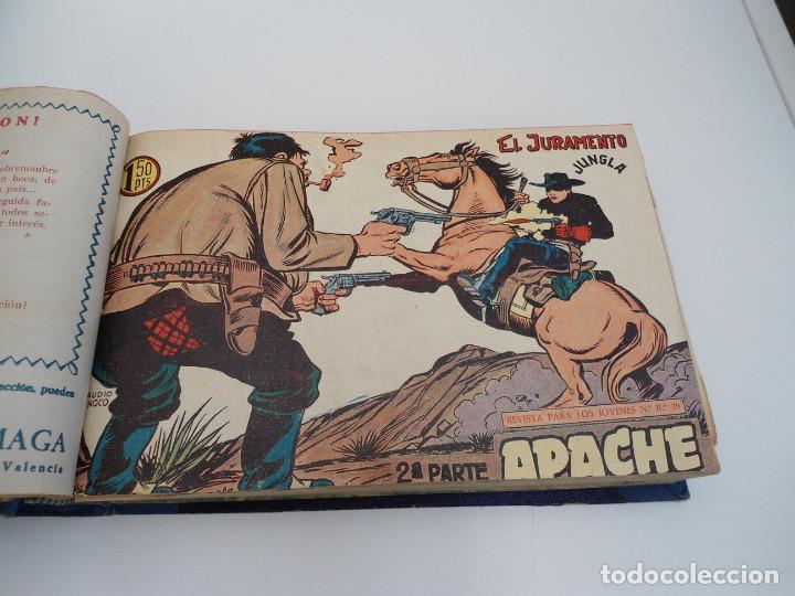 Tebeos: APACHE 2ª PARTE - 73 números correlativos ORIGINALES - Ed. MAGA 1958 - Foto 17 - 72137395