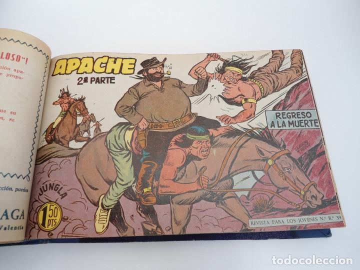 Tebeos: APACHE 2ª PARTE - 73 números correlativos ORIGINALES - Ed. MAGA 1958 - Foto 22 - 72137395