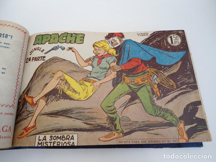 Tebeos: APACHE 2ª PARTE - 73 números correlativos ORIGINALES - Ed. MAGA 1958 - Foto 23 - 72137395