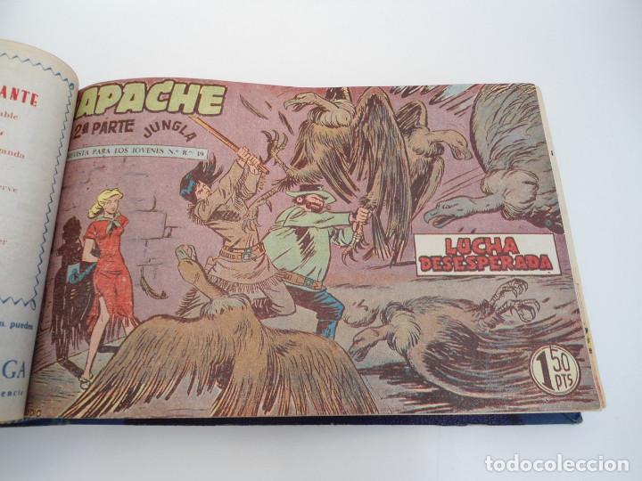 Tebeos: APACHE 2ª PARTE - 73 números correlativos ORIGINALES - Ed. MAGA 1958 - Foto 25 - 72137395
