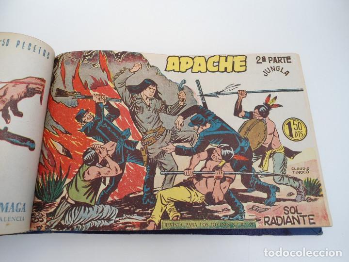 Tebeos: APACHE 2ª PARTE - 73 números correlativos ORIGINALES - Ed. MAGA 1958 - Foto 27 - 72137395