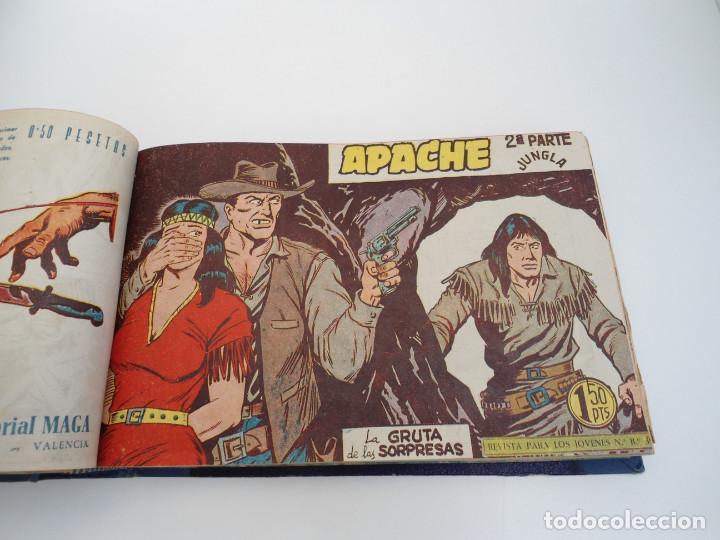 Tebeos: APACHE 2ª PARTE - 73 números correlativos ORIGINALES - Ed. MAGA 1958 - Foto 28 - 72137395