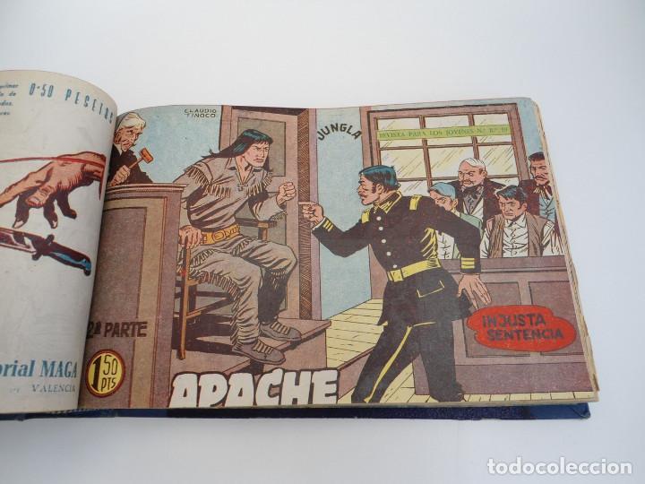 Tebeos: APACHE 2ª PARTE - 73 números correlativos ORIGINALES - Ed. MAGA 1958 - Foto 29 - 72137395