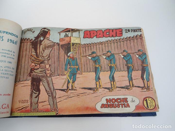Tebeos: APACHE 2ª PARTE - 73 números correlativos ORIGINALES - Ed. MAGA 1958 - Foto 30 - 72137395