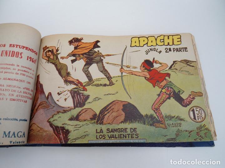 Tebeos: APACHE 2ª PARTE - 73 números correlativos ORIGINALES - Ed. MAGA 1958 - Foto 32 - 72137395