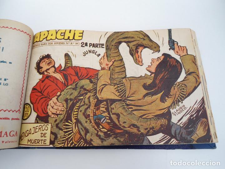 Tebeos: APACHE 2ª PARTE - 73 números correlativos ORIGINALES - Ed. MAGA 1958 - Foto 34 - 72137395