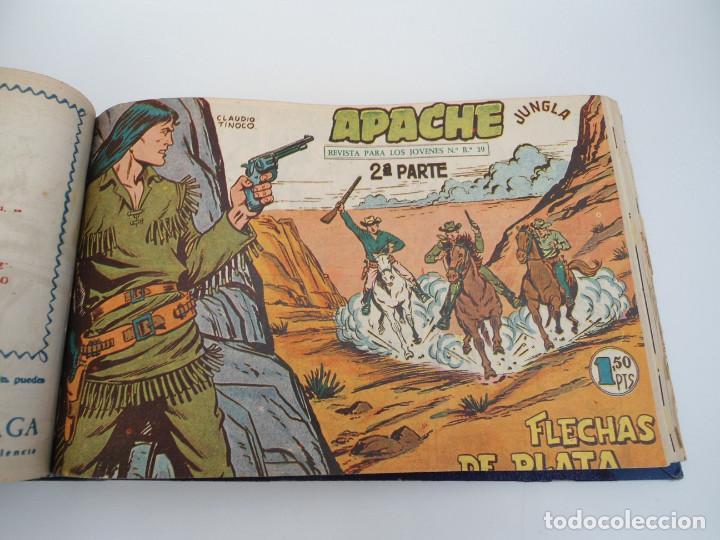 Tebeos: APACHE 2ª PARTE - 73 números correlativos ORIGINALES - Ed. MAGA 1958 - Foto 35 - 72137395