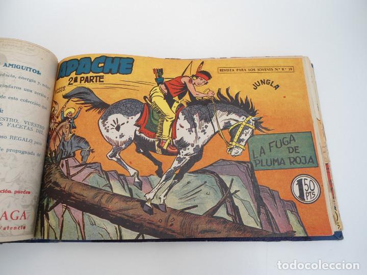 Tebeos: APACHE 2ª PARTE - 73 números correlativos ORIGINALES - Ed. MAGA 1958 - Foto 42 - 72137395