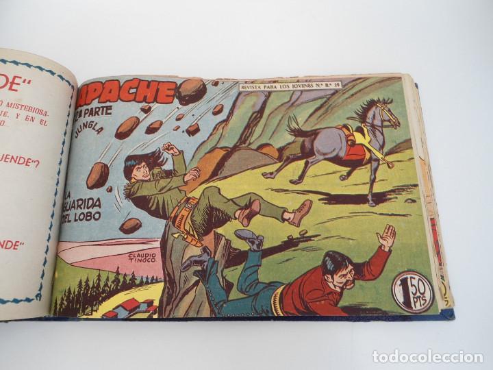 Tebeos: APACHE 2ª PARTE - 73 números correlativos ORIGINALES - Ed. MAGA 1958 - Foto 43 - 72137395