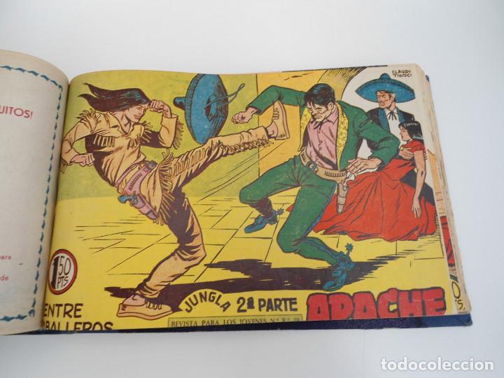 Tebeos: APACHE 2ª PARTE - 73 números correlativos ORIGINALES - Ed. MAGA 1958 - Foto 46 - 72137395