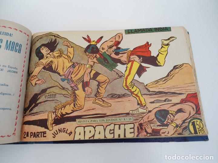 Tebeos: APACHE 2ª PARTE - 73 números correlativos ORIGINALES - Ed. MAGA 1958 - Foto 47 - 72137395