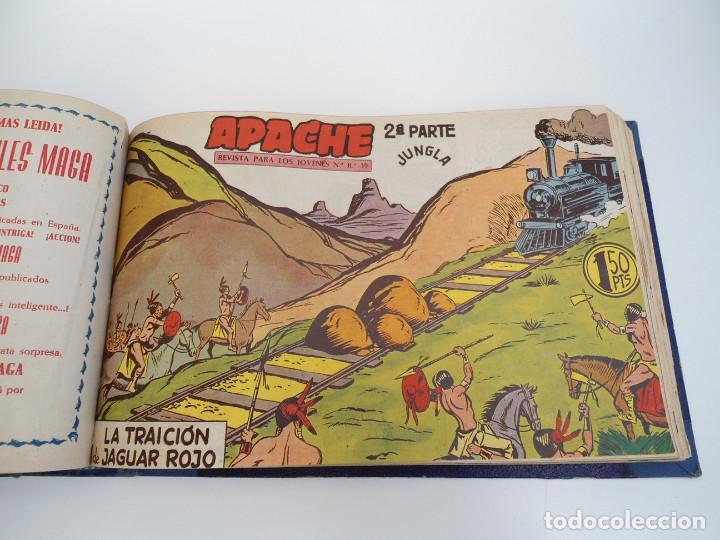 Tebeos: APACHE 2ª PARTE - 73 números correlativos ORIGINALES - Ed. MAGA 1958 - Foto 49 - 72137395