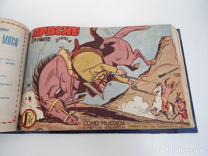 Tebeos: APACHE 2ª PARTE - 73 números correlativos ORIGINALES - Ed. MAGA 1958 - Foto 50 - 72137395